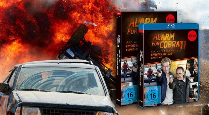 Alerta Cobra: Staffel 40 en DVD y Blu-Ray