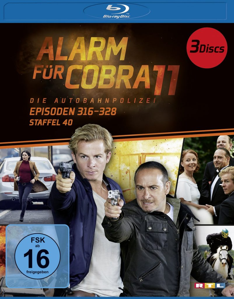 Staffel 40 BluRay Disc